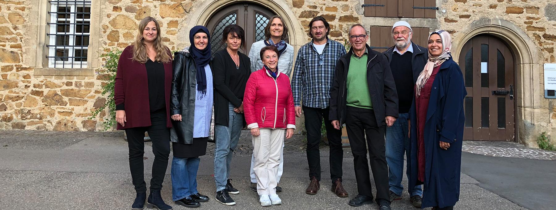 Gruppenfoto der Mitglieder des Integrationsrats