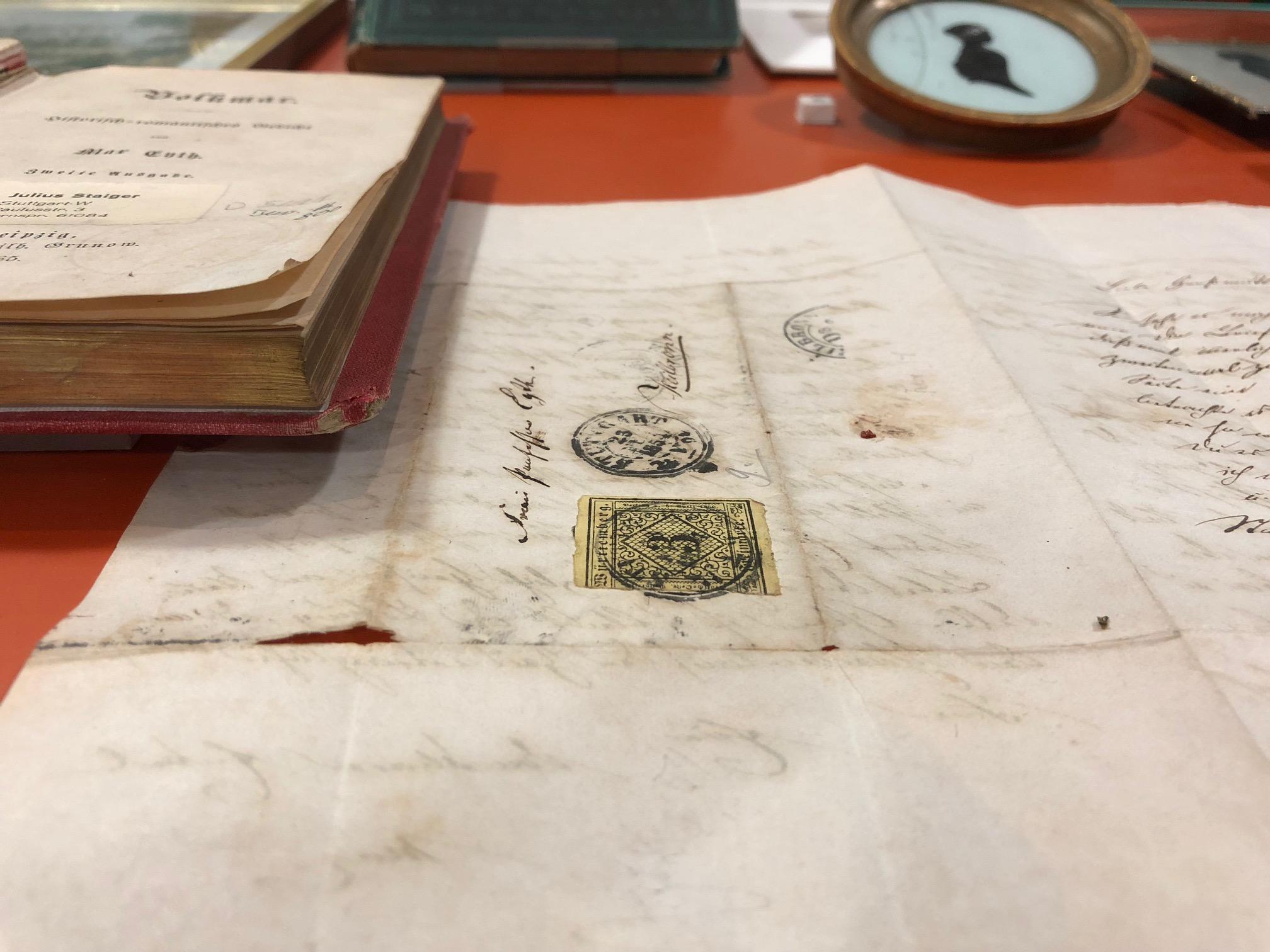 Bücher im Literarischen Museum