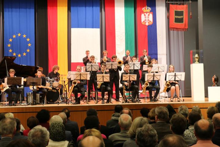 Die Big Band Kirchheim beim Dämmerschoppen in der Stadthalle am 11.01.2019