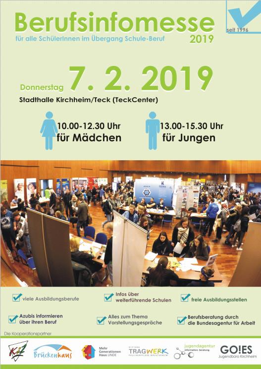 Plakat Berufsinfomesse 2019
