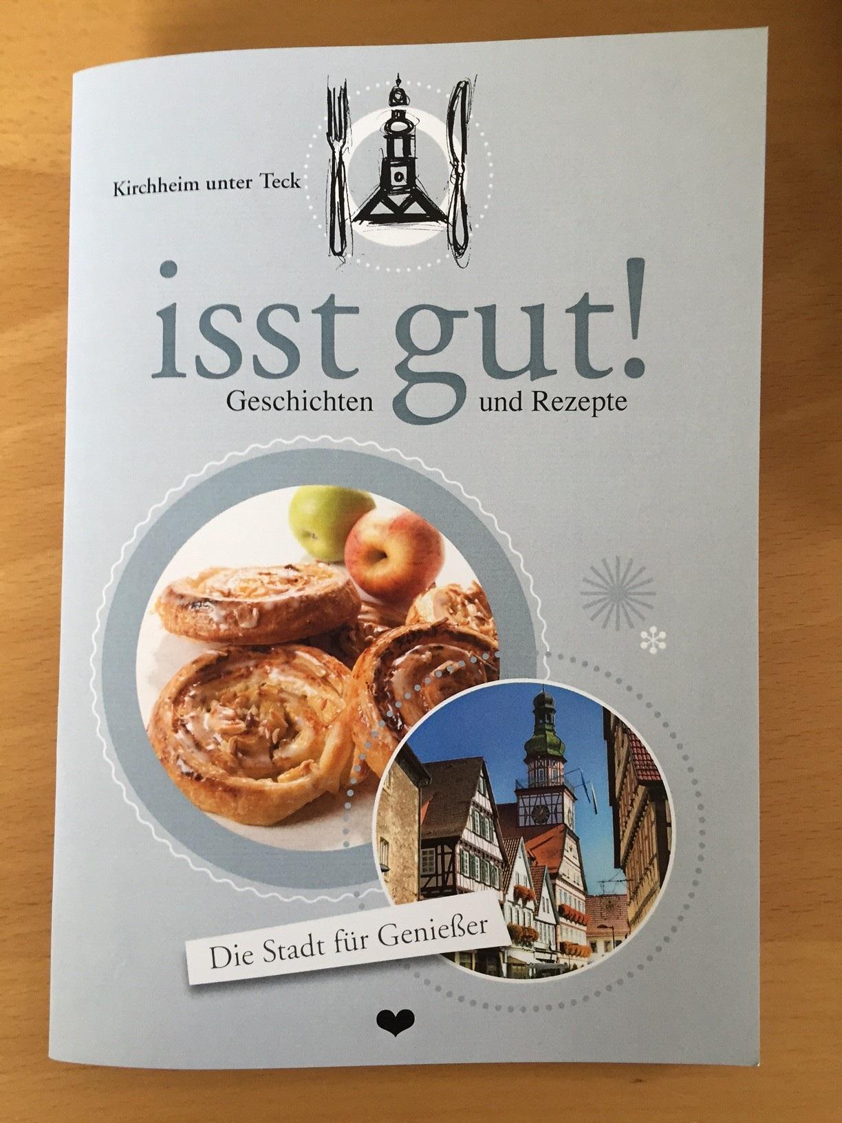"""Buch """"Kirchheim unter Teck isst gut!"""""""