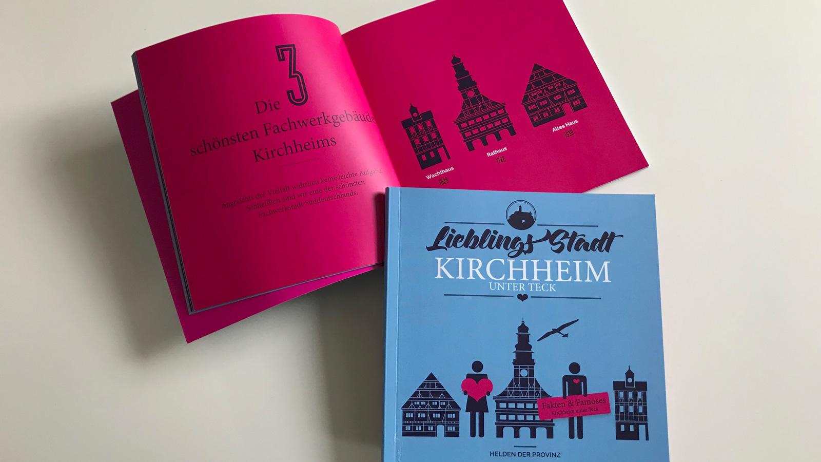 """Buch """"Lieblingsstadt Kirchheim unter Teck"""""""