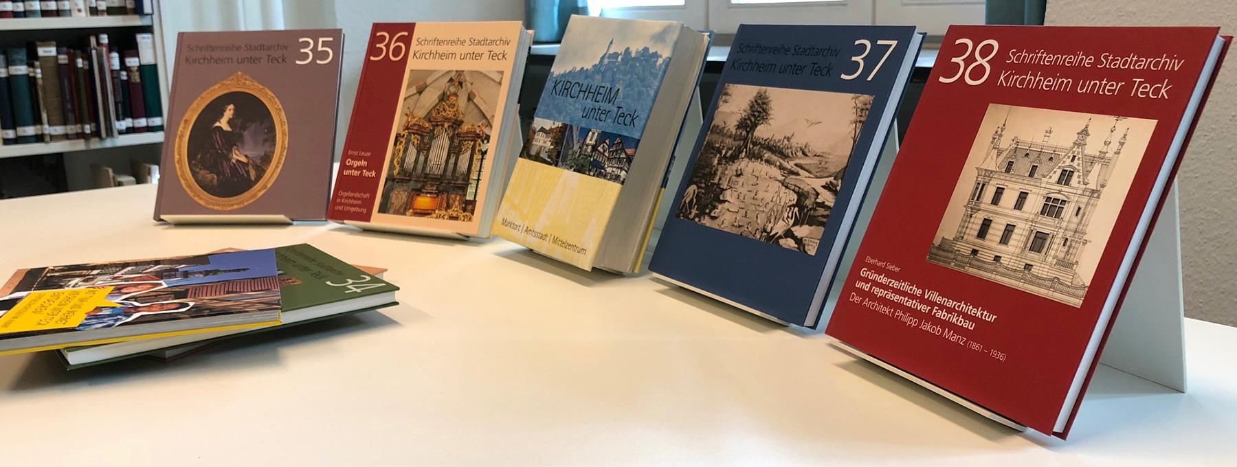 Eine Auswahl an Publikationen zur Stadtgeschichte