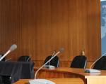 Sitze der Verwaltungsspitze im Großen Sitzungssaal