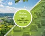 Postkarte für den Fragenbogen zum Projekt