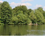 Der Untere Bürgersee in Kirchheim unter Teck