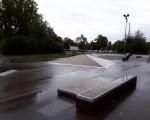 Es ist der Skaterplatz in der Jesinger Straße zu sehen.