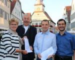 Übergabe der Urkunden der Bürgerstiftung 2019 durch Oberbürgermeisterin Matt-Heidecker an die ausgezeichneten Projekte.