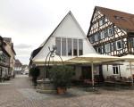 Das neue Waldhorn aus Blickrichtung Marktplatz