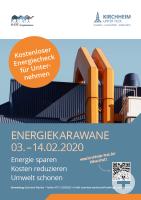 Die Energiekarawane kommt vom 3. bis zum 14. Februar 2020 nach Kirchheim unter Teck