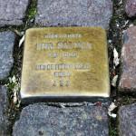 Stolperstein in der Dettinger Straße