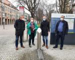 Einweihung des Trinkwasserbrunnens am Krautmarkt in Kirchheim unter Teck