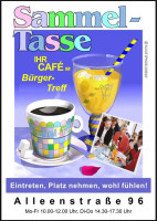 Café Sammel-Tasse im BürgerTreff