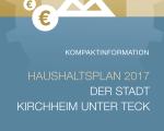 Infoflyer-Städtischer Haushalt 2017