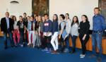 Schülerempfang Kalocsa im Rathaus
