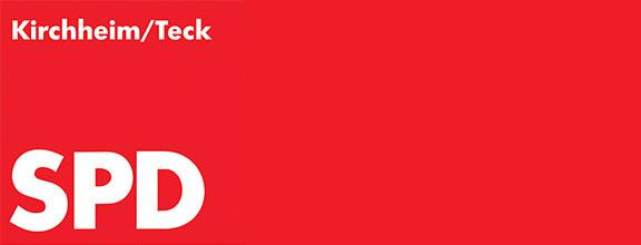 """Logo der Fraktion """"SPD"""" komplett rot"""