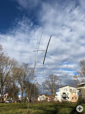 Komposition für Licht und Wind auf dem Kunstweg