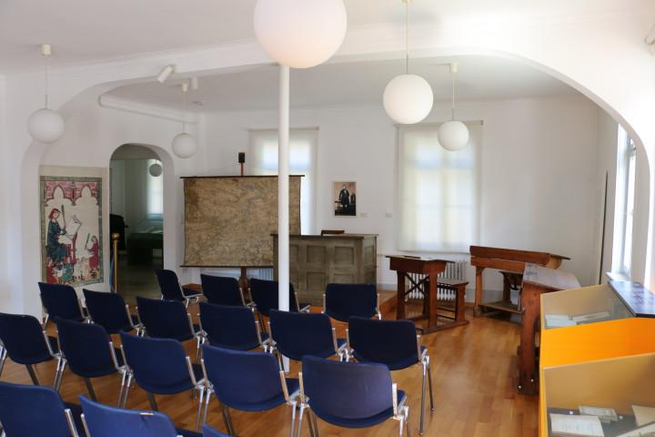 Das Trauzimmer in der Lateinschule im Max-Eyth-Haus