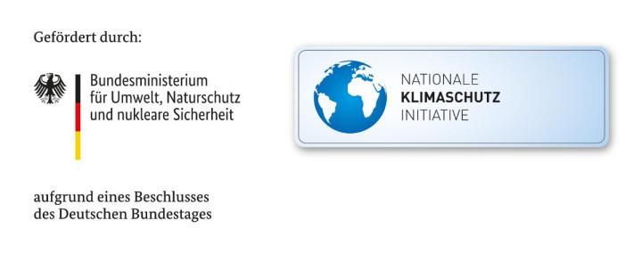 Förderungshinweis Bundesministerium für Umwelt, Naturschutz und nukleare Sicherheit zum Sanierungsgebiet Ortsmitte Ötlingen