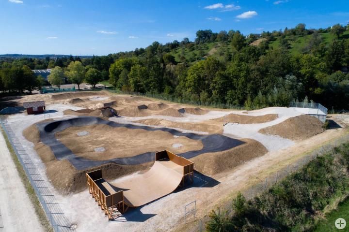 _Der neugestaltetet Kirchheimer Bikepark kurz vor Eröffnung