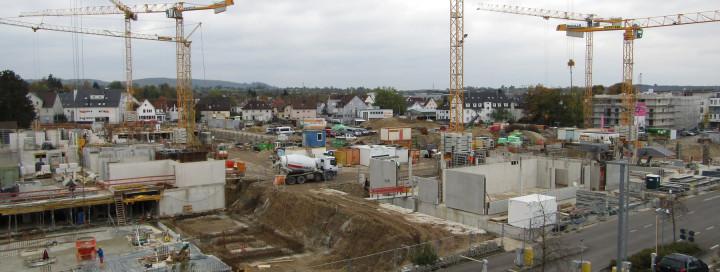 Baufortschritt_Steingauquartier Okt_2019