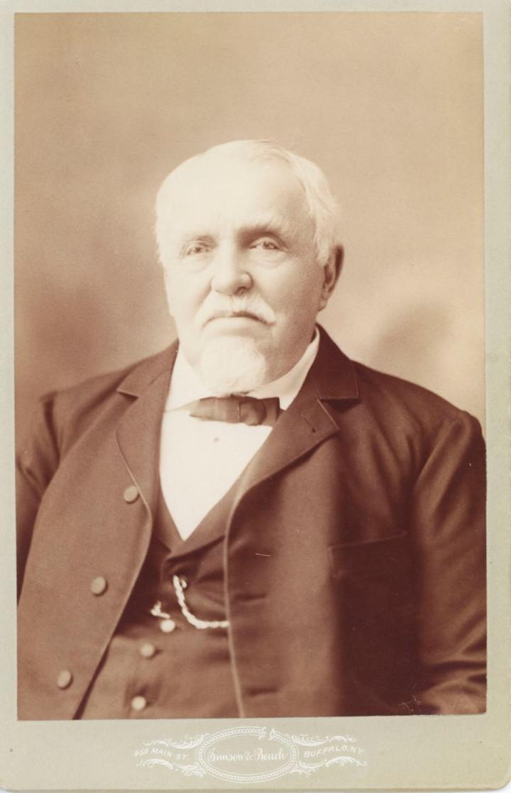 Ein Portrait von Jakob Friedrich Schöllkopf