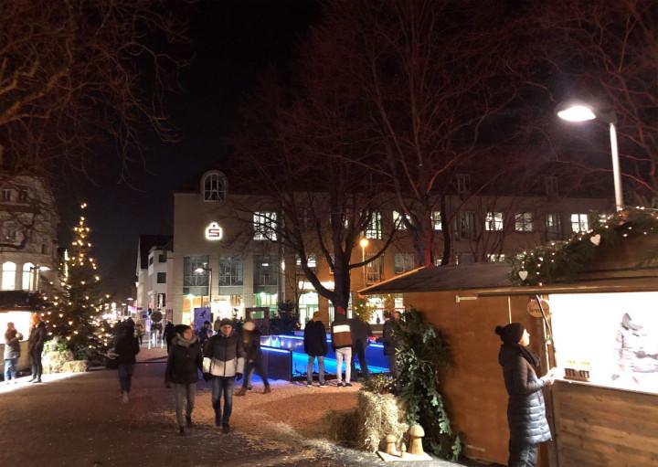 Das Weihnachtsdörfli am Max-Eyth-Haus