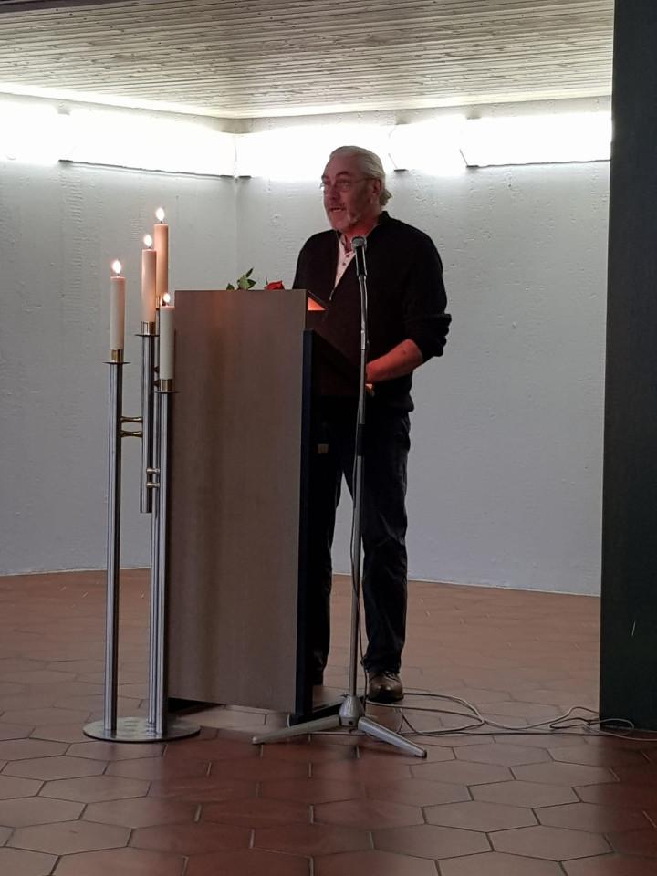Volkstrauertag Rede 1. stellvertretender OV Jochen Herzog