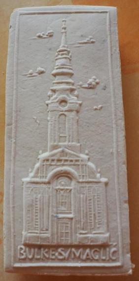 Die Springerle-Form der Bulkeser Kirche