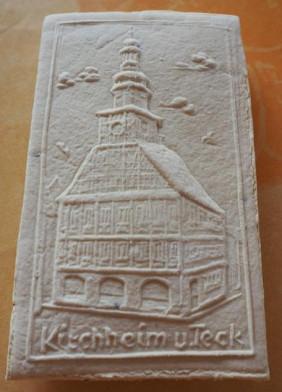 Die Springerle-Form des Kirchheimer Rathauses
