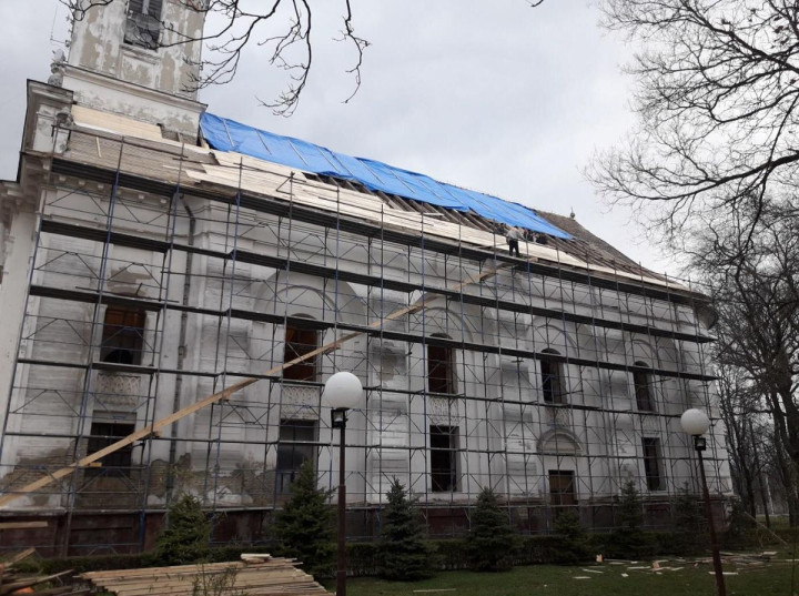 Die Arbeiten an der Bulkeser Kirche gehen voran