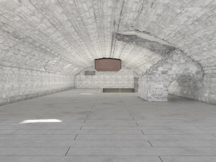 Visualisierung Gewölbekeller