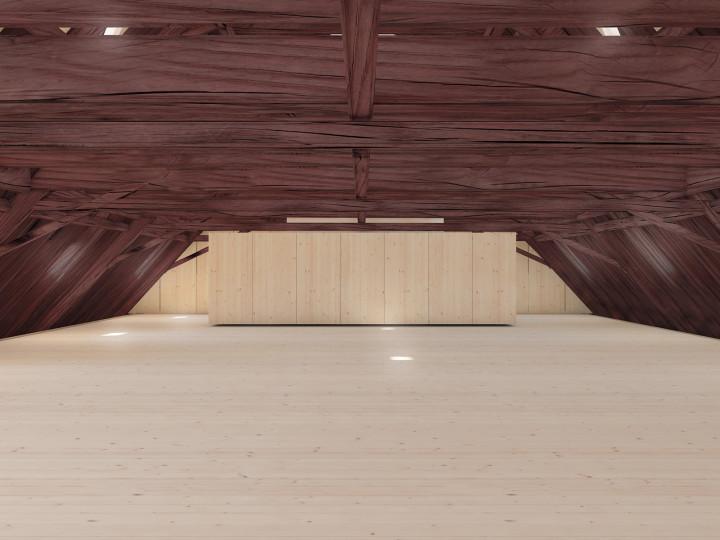 Visualisierung Dachgeschoss