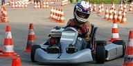 Jugendkart-Slalom