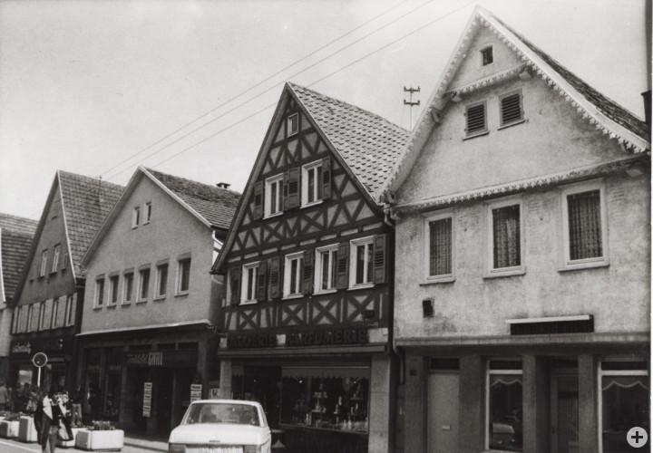 Marktstraße 47, 49, 51 und 53 (v.l.n.r.) (StadtA Ki F 09265)