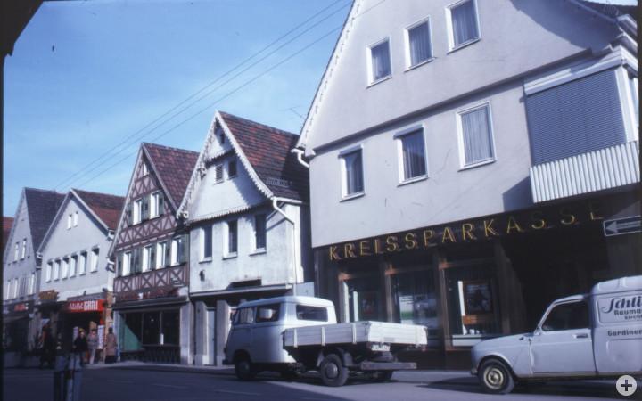 Marktstraße 49, 51, 53 und 55 (v.r.n.l.) (StadtA Ki F 10907)