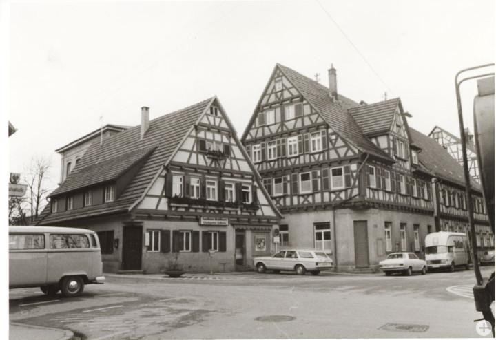 Marktplatz 6 und 8(l.) (StadtA Ki F 09085)