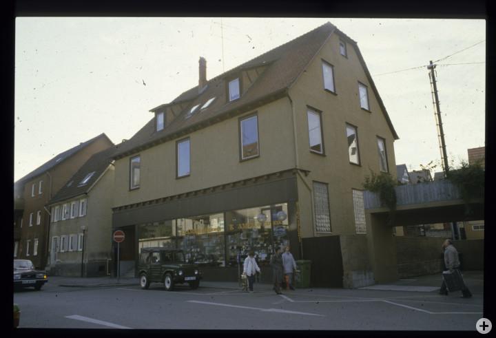 Turmstraße 12 u. 10 (StadtA Ki F 18430)