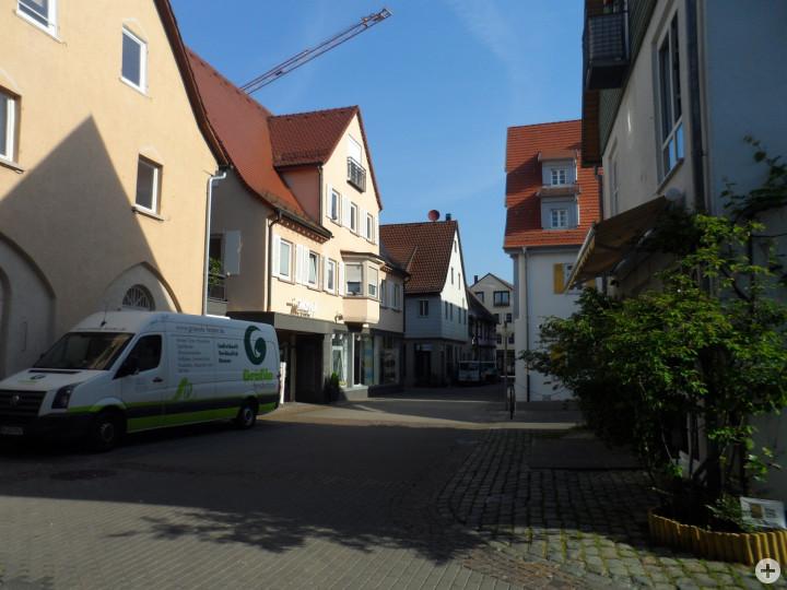 Schuhstraße nordwärts