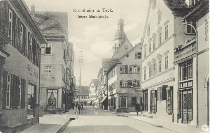 Marktstraße 1 + 3 (links) (StadtA Ki F 13042)