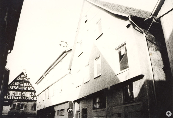 Küferstraße 1 (StadtA Ki F 8931)
