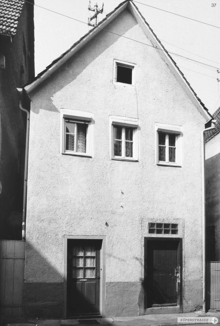 Küferstraße 6 (StadtA Ki F 17317)