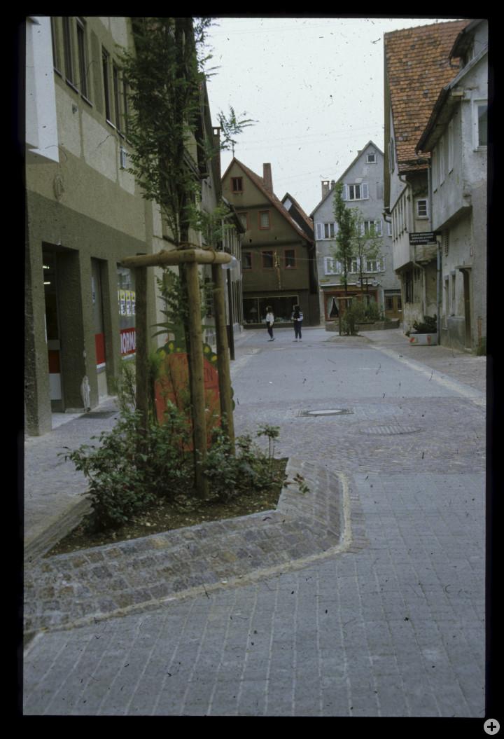 Metzgerstraße 3 (links) (StadtA Ki F 18419)