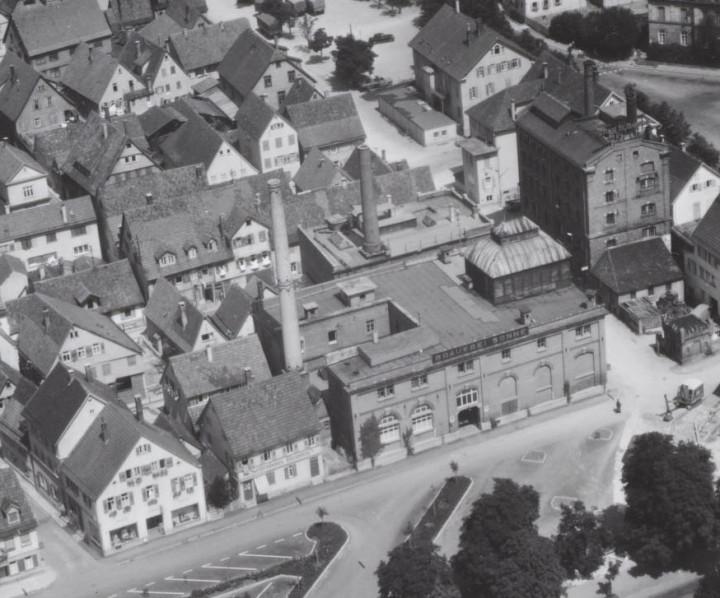 Brauerei Sonne (StadtA Ki F Ausschnitt v. 14340)