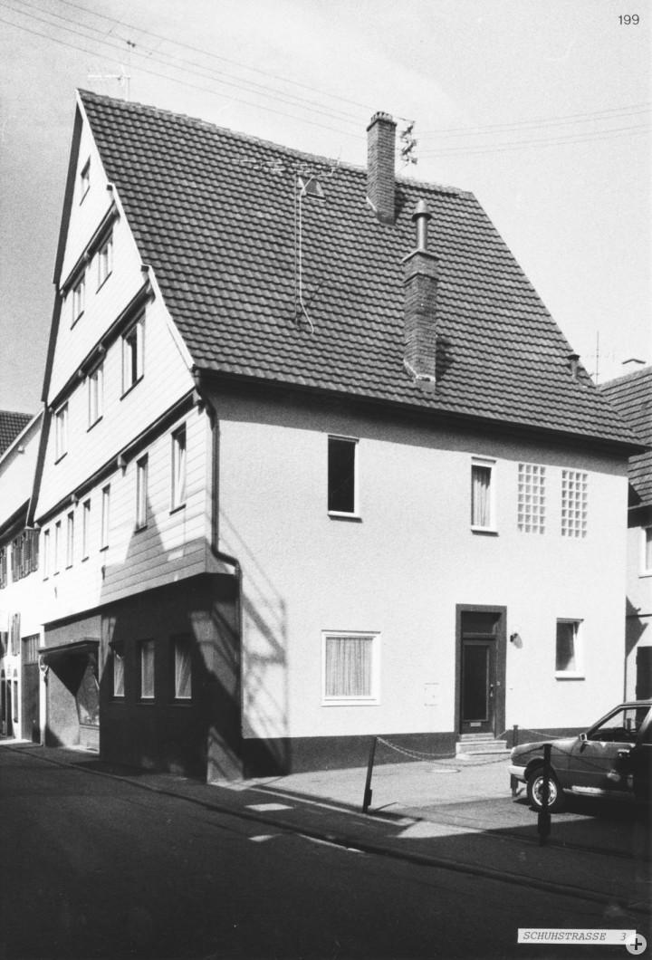 Schuhstraße 3 (StadtA Ki F 17335)