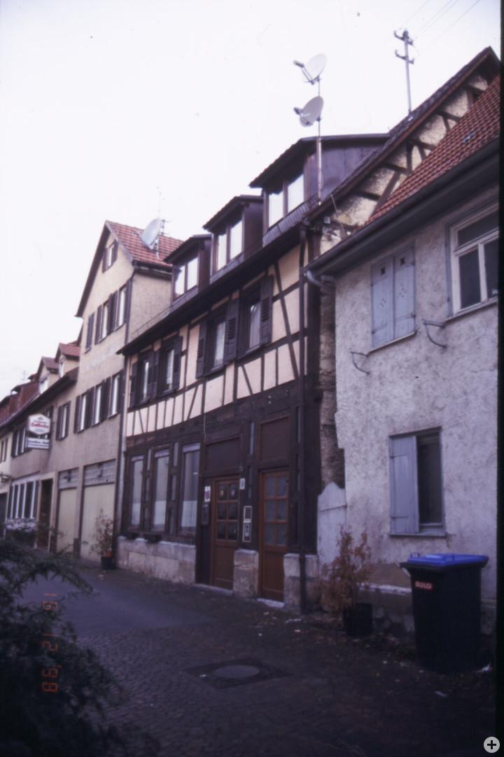 Sonnenstraße 5 + 7 (links) (StadtA Ki F 15900)