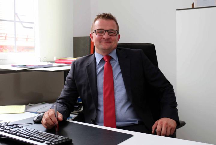 Buergermeister Stefan Woerner