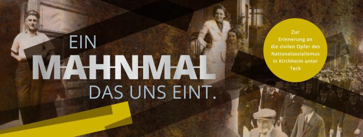 Mahnmal zur Erinnerung an die zivilen Opfer der NS-Zeit in Kirchheim unter Teck