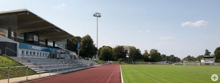 Das Stadion des VfL Kirchheim